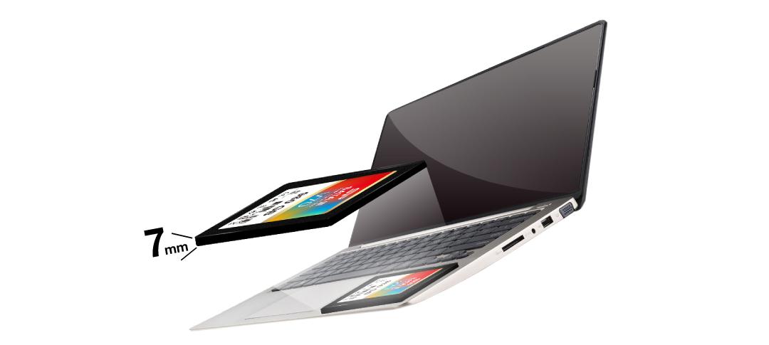 Velox V70 7mm ultra slim for notebooks and desktops