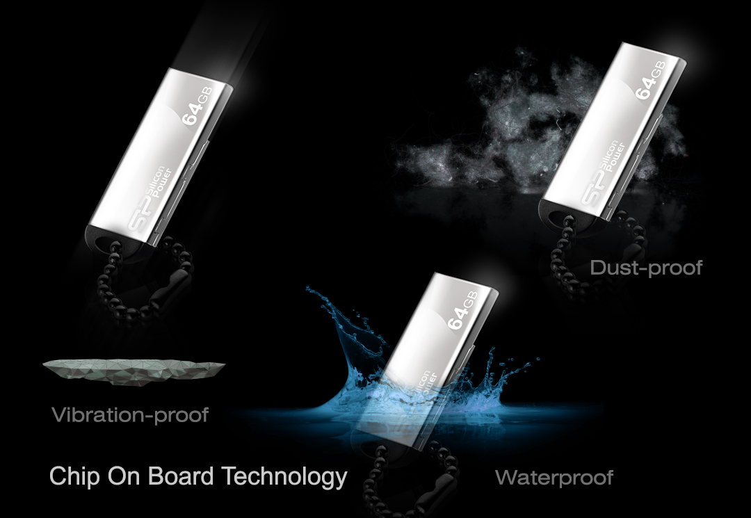 Touch 830 Waterproof, dustproof and vibration-proof protections