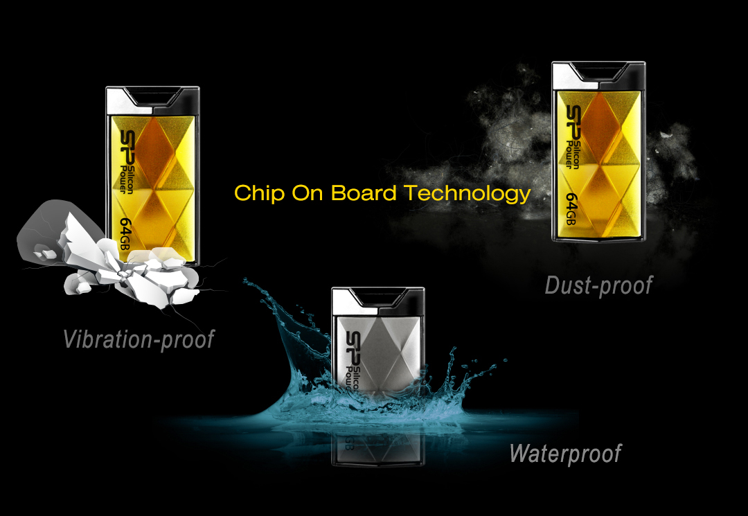 Touch 850 Waterproof, dustproof and vibration-proof protections