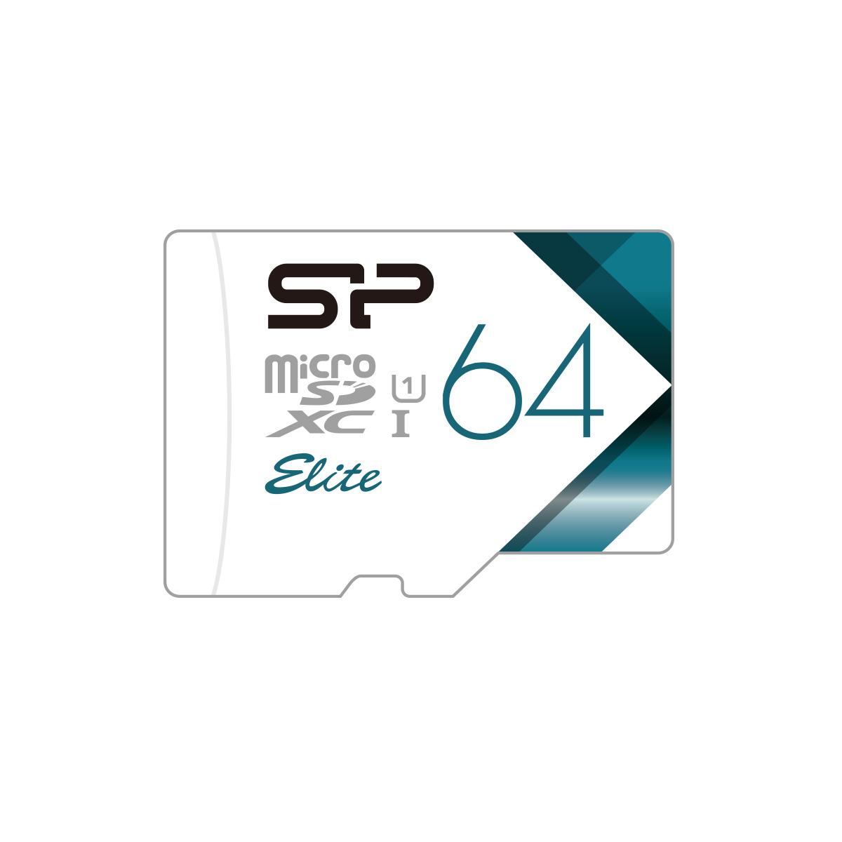 Elite<br>microSDHC/SDXC_Colorful<br><font color='#888888' size='2%'>(Class 10. UHS-I U1. Full HD)</font>