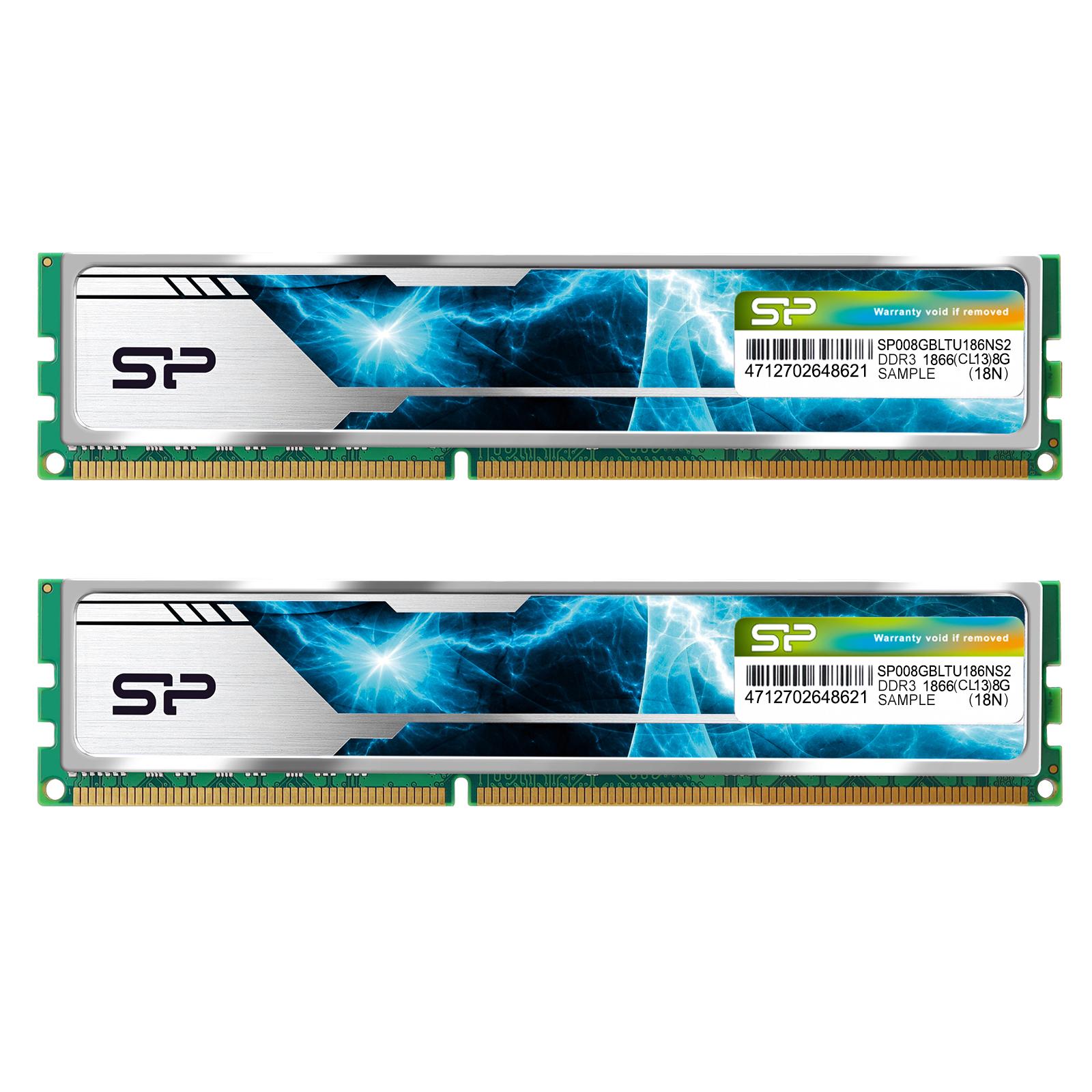 DDR3 UDIMM<br>(Heatsink)<br><font color='#888888' size='2%'>1866/1600 </font>