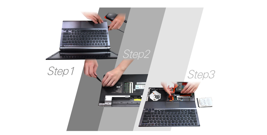 Slim S60 An Upgrade as Easy as 1-2-3