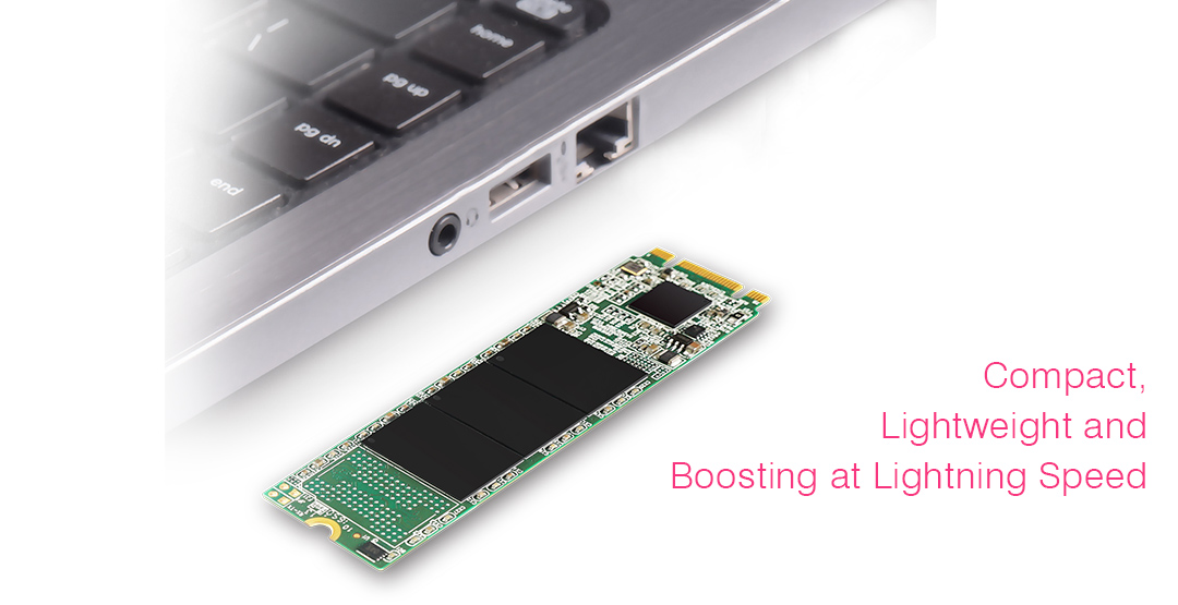 M.2 2280 M55 Ultra-Compact for Up-to-Date Devices