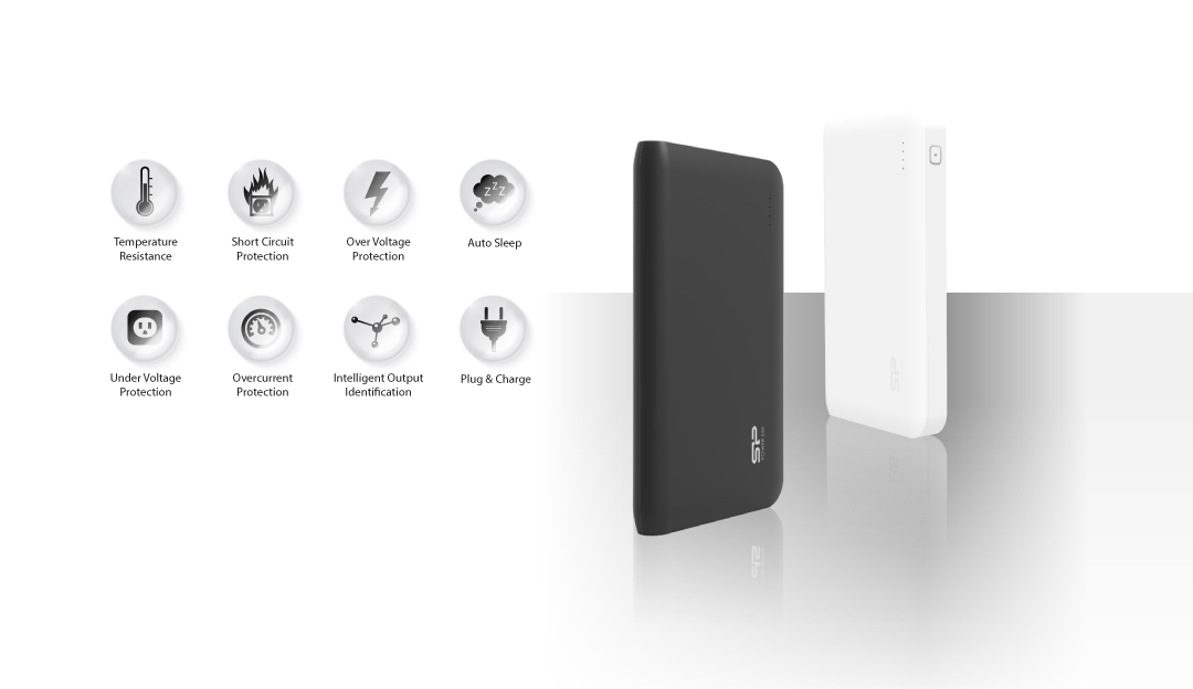 Power S100 Multiple Protection System for Safe Charging