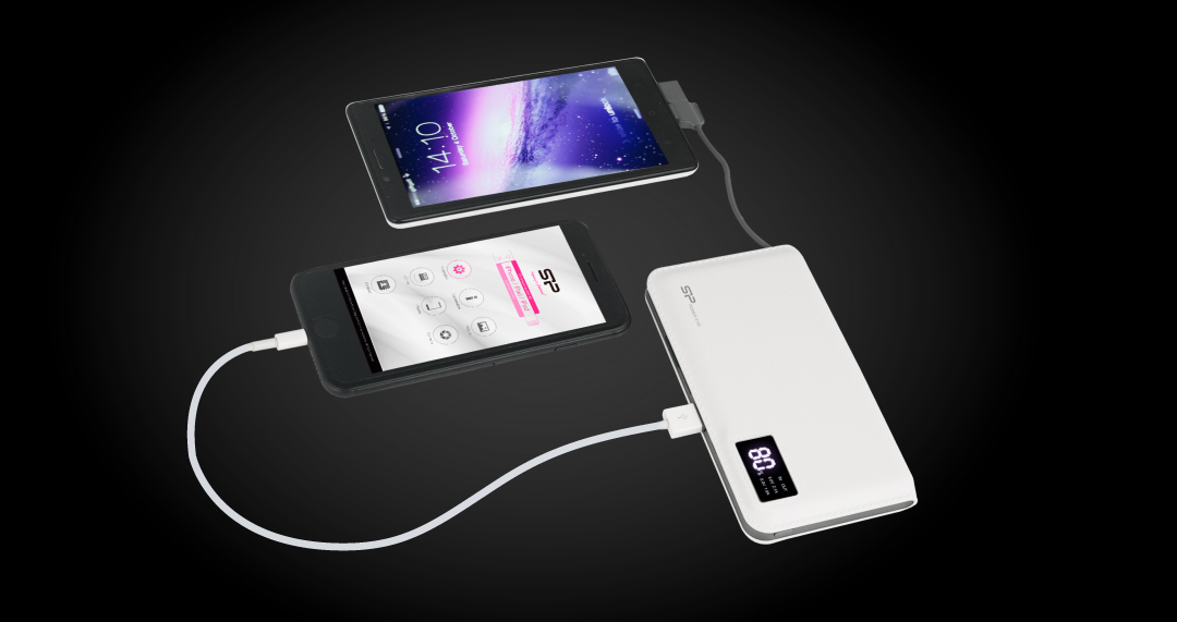 Power S103 Two Outputs for Two Devices - Stereo Charging!