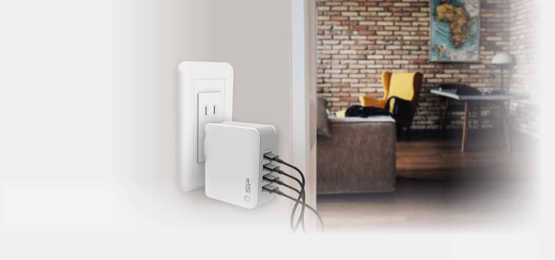 Boost Charger WC104P From Single Socket to Multiple Charging-Hub