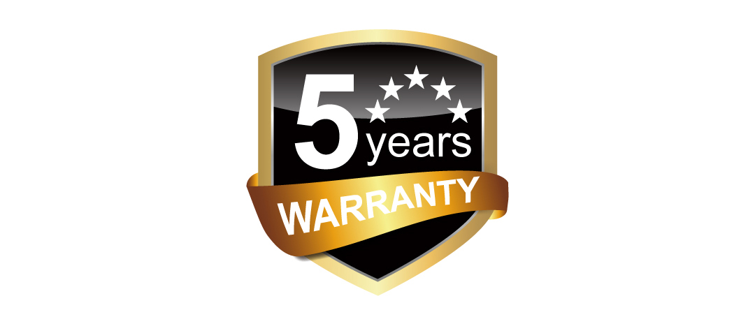 Slim S70 5-year warranty