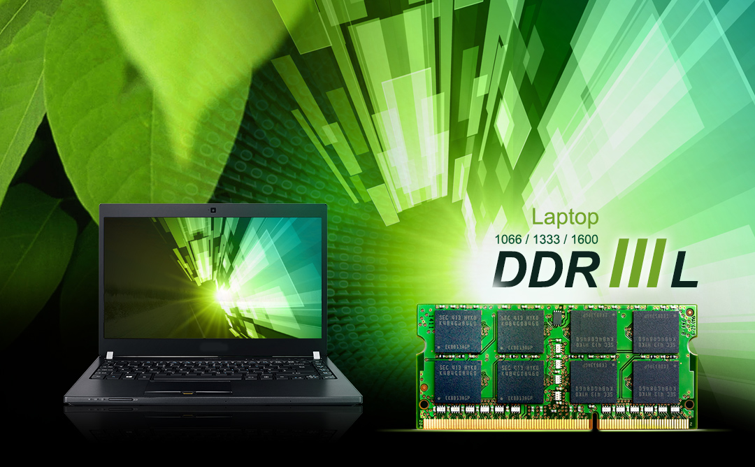 DDR3L Low Voltage SODIMM<br><font color='#888888' size='2%'>1600/1333/1066  </font>