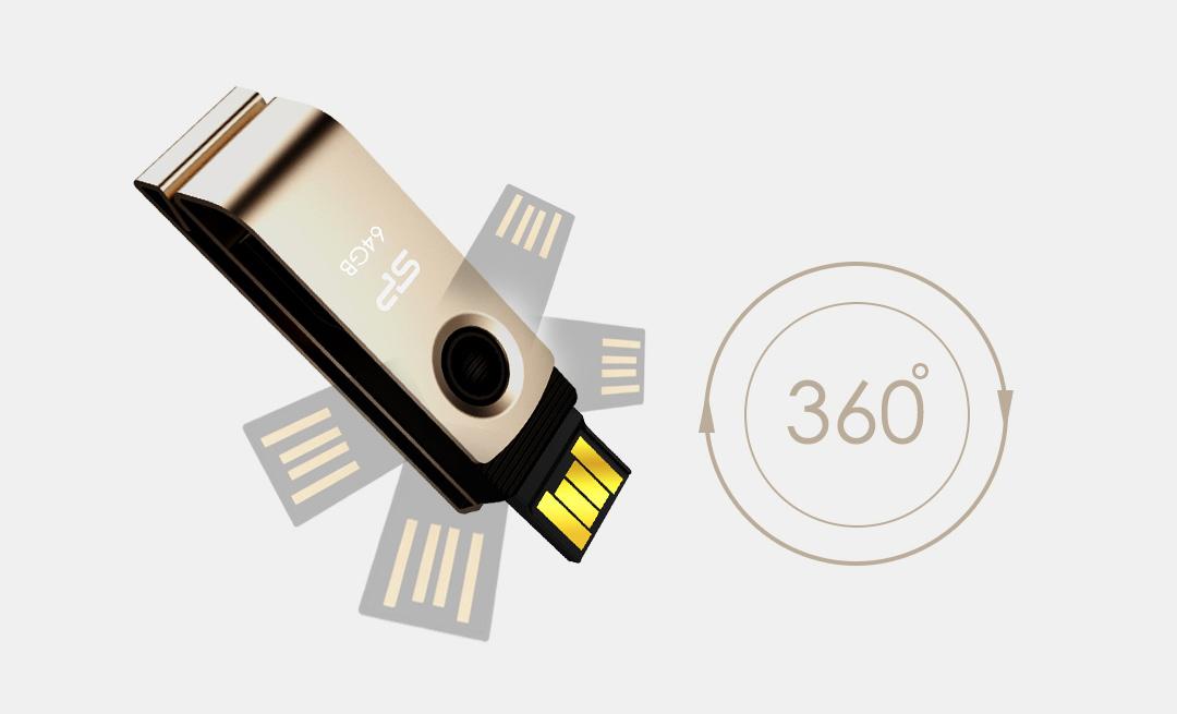 Touch 825 360∘swivel cap design