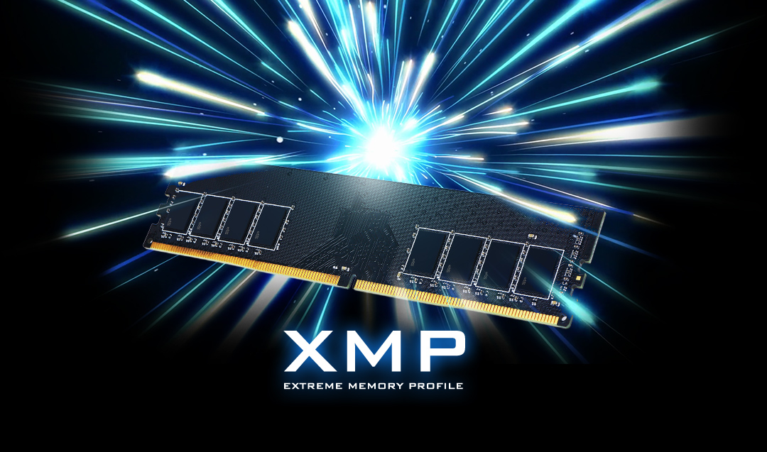 XPOWER AirCool <br> DDR4 Gaming UDIMM<br><font color='#888888' size='2%'>4133/3600/3200/3000/2666 </font> Simple Speed Upgrade