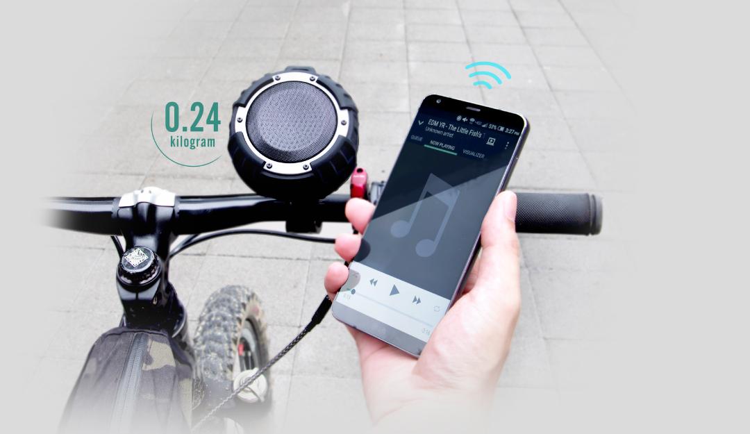 Wireless Speaker BS71 Designed with outdoor adventures in mind