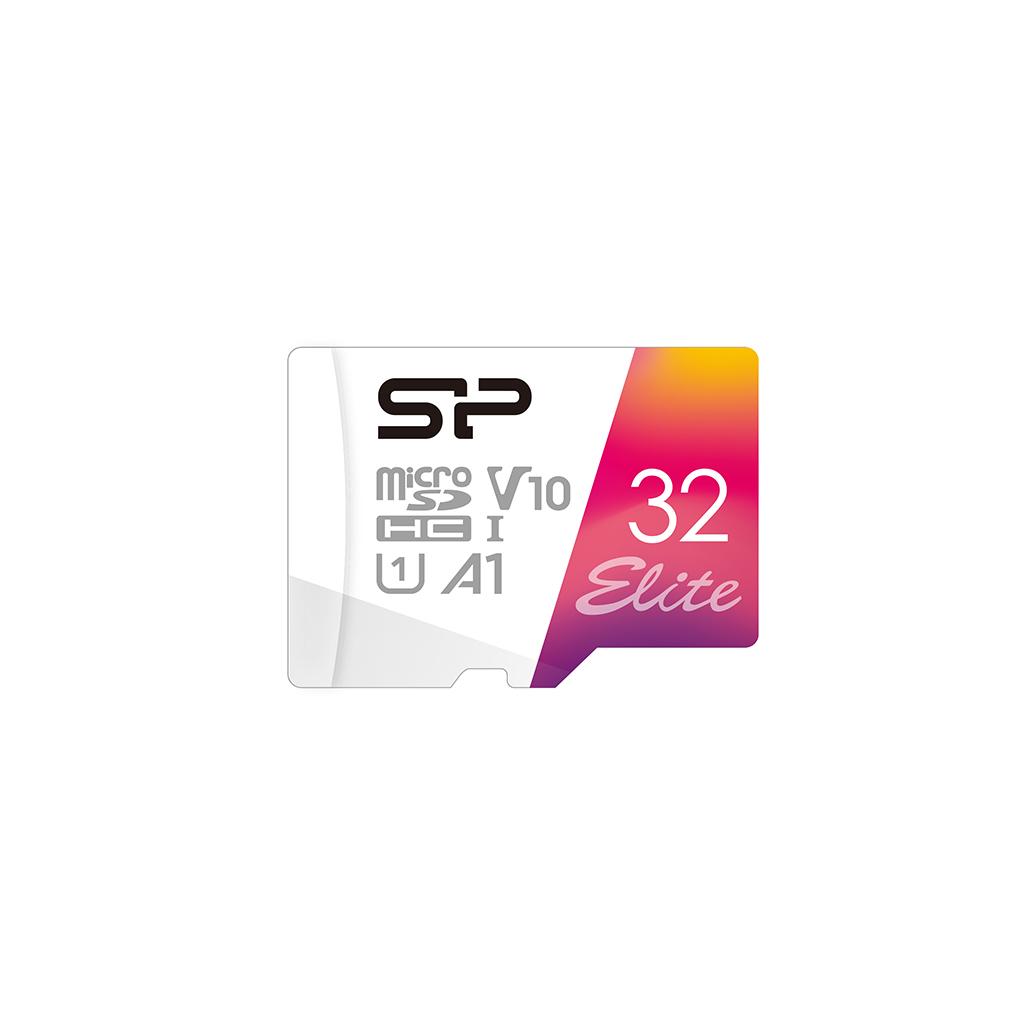 Elite<br>microSDHC/SDXC UHS-I<br><font color='#888888' size='2%'>(Class 10. A1. UHS-I U1. Full HD)</font>