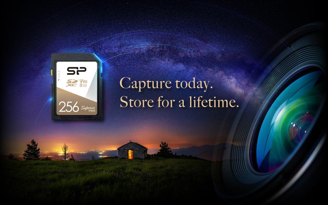 Superior Pro <br> SDXC UHS-II <br><font ='#888888' size='2%'>(Class 10(U3). UHS- II. V90)</font>