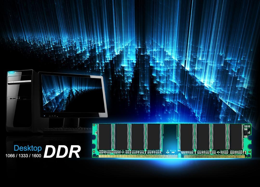 DDR UDIMM<br><font color='#888888' size='2%'>400/333/266 </font>