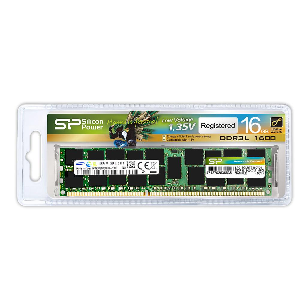 Memory Modules DDR3L 240-PIN Low Voltage Registered DIMM