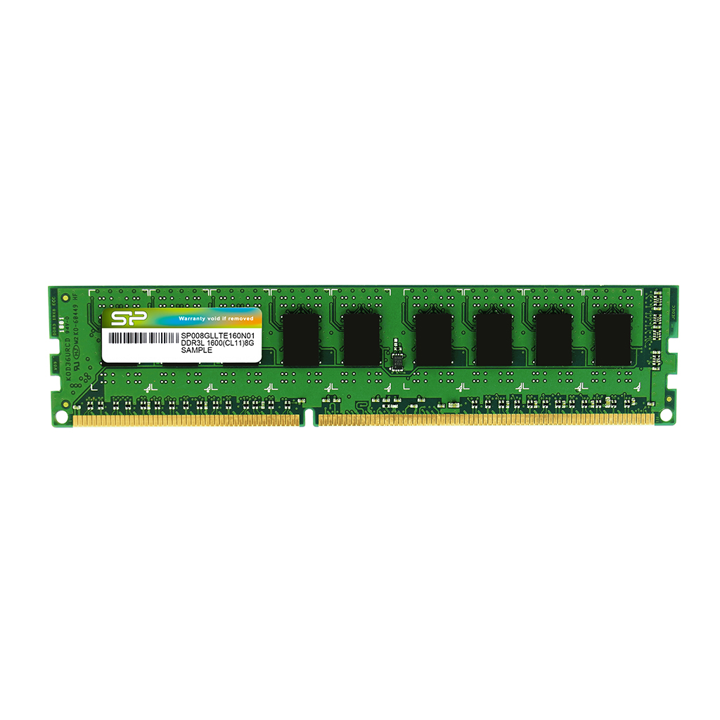 Memory Modules DDR3L Low Voltage ECC UDIMM<br><font color='#888888' size='2%'>1600/1333</font>