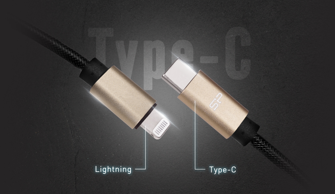 Boost Link Nylon LK30CL<br><font color='#888888' size='2%'>(Lightning / Type-C)</font> USB Type-C Interface: The Present And Future Of Connectivity