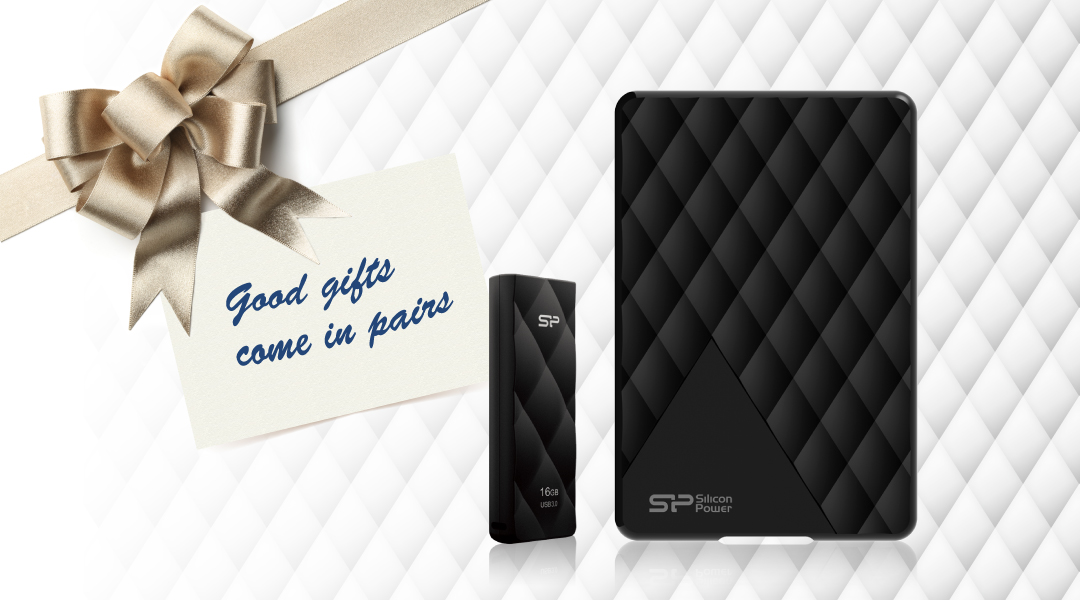 Diamond D06<br><font color='#888888' size='2%'>500GB, 1TB, 2TB</font> Good gift come in pairs