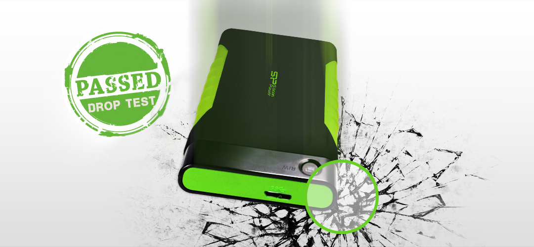 Armor A15<br><font color='#888888' size='2%'>1TB, 2TB</font> Military-grade Shockproof Protection