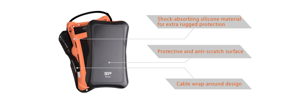 Slim S55 Upgrade Kit Shockproof enclosure for all-around protection