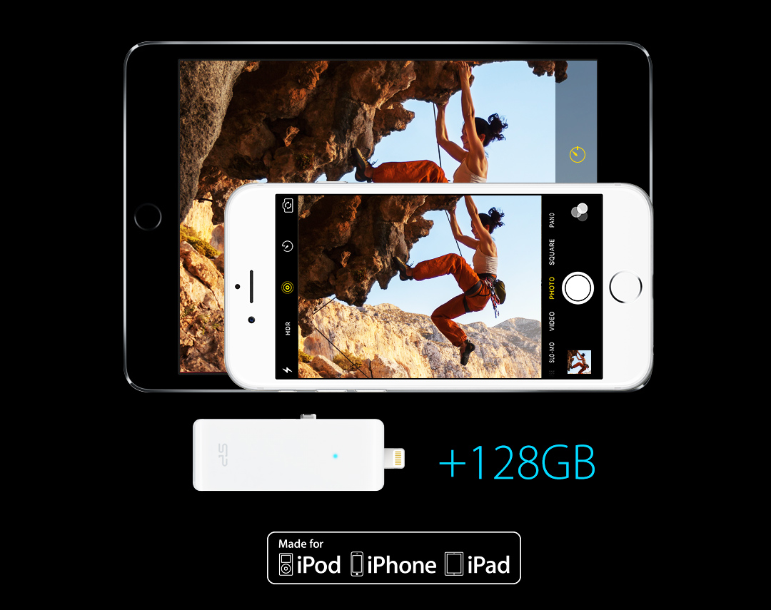 SP xDrive Z30 Budget-friendly storage expansion solution for iPhone/iPad/iPod